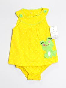 Carter's One Piece Outfit, Short Sleeve 24 Mo
