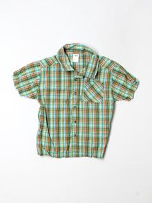 Gymboree Short-sleeve Button-down 4T