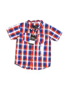 Hurley Short-sleeve Button-down 4T