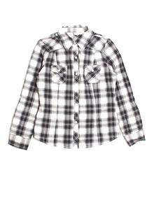 Mudd Button Down, Long-sleeve Large Youth