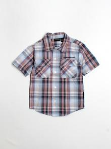 CALVIN KLEIN JEANS Short-sleeve Button-down 4T