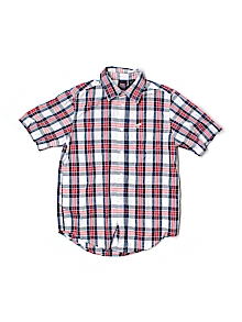 Wrangler Jeans Co Button Down, Short Sleeve 10-12