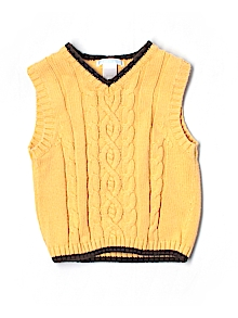 Janie and Jack Sweater Vest 2T