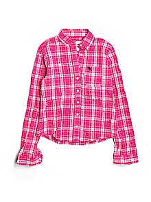 Abercrombie  Button Down, Long Sleeve Large Youth