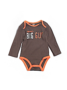 Carter's Onesie, Long Sleeve 12 Mo