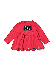 Class Club Top, Long Sleeve 24 Mo