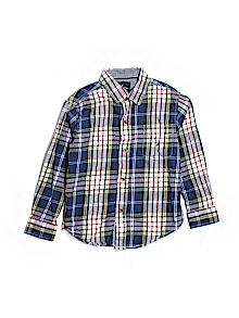 Nautica Button Down, Long Sleeve 7 (L)