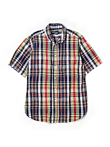 Ralph Lauren Button Down, Short Sleeve Medium youth