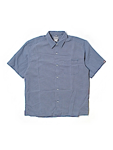 Quiksilver Button Down, Short Sleeve Medium youth