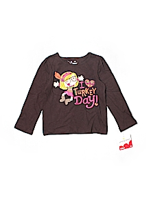 Jumping Beans T-shirt, Long Sleeve 2T