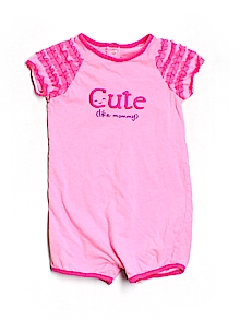 Okie Dokie One Piece Outfit, Short Sleeve 24 Mo