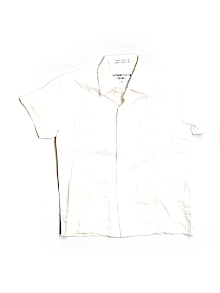 Gentlemens Collection Juvenile Short-sleeve Button-down Medium Youth