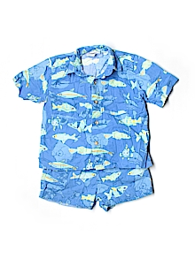 corkey's kids Button Down, Short Sleeve 3T