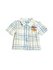 Disney Pixar Button Down, Short Sleeve 3T