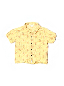 Janie and Jack Button Down, Short Sleeve 3T