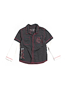 Sprockets Button Down, Long Sleeve 4T