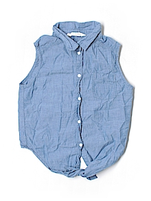 H&M Button Down, Sleeveless