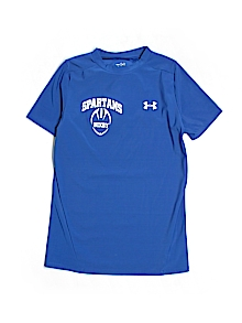 Under Armour Top, Short Sleeve Large youth