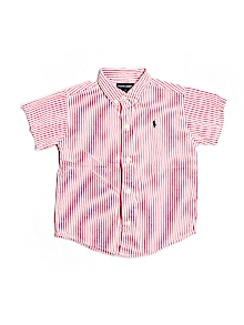Ralph Lauren Button Down, Short Sleeve 3T