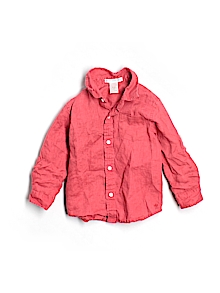 Janie and Jack Button Down, Long Sleeve 18-24 mo