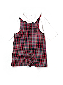 Jack & Teddy One-piece Outfit, Short Sleeve 12 mo