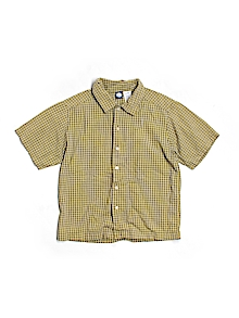 Gymboree Button Down, Short Sleeve 5-6