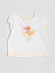 Sesame Street by Nicole Miller Top, Short Sleeve 3T