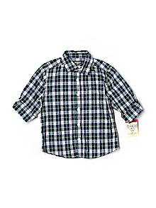 OshKosh B'gosh Button Down, Short Sleeve 3T