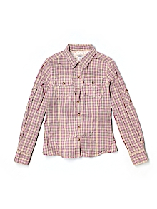Old Navy Button Down, Long Sleeve Large youth